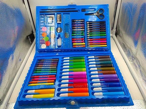 Художественный набор для рисования 86 предметов для мальчиков