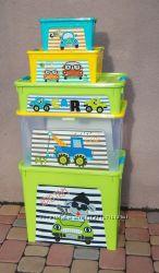 Комплект контейнеров для игрушек My Car  подарок
