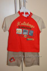 Новый летний набор футболка и шорты для мальчика
