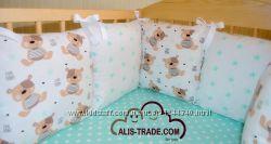 Защита в детскую кроватку - пошив на заказ