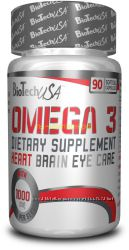 BioTech USA Omega 3 90 softgels омега 3 рыбий жир