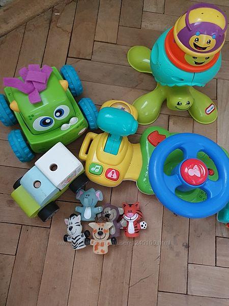Іграшки набір розвиваючі від 6 місяців
