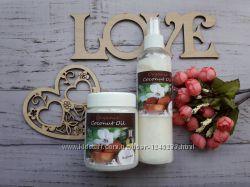 Кокосовое масло для волос и тела Organic, рафинированное, есть опт