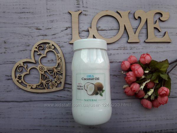 Пищевое нерафинированное кокосовое масло Organic, Extra Virgin, 0. 5 л
