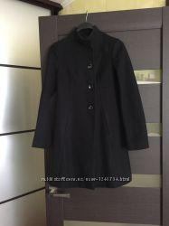 Чёрное пальто Benetton  размерXS
