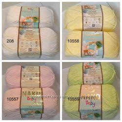 Пряжа детская Hosgeldin soft от Nako 60 бамбук, 40 полиамид