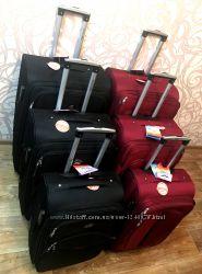 Чемоднан чемоданы сумки на 4-х колесах Swift -Wings 360 градусов поворот