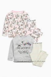 Пижама Next с леггинсами и единорогами 13-14 лет