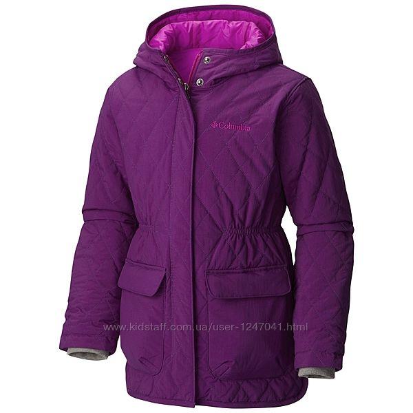 Демисезонная удлиненная куртка Columbia  L 14/16 на рост 157см Оригинал
