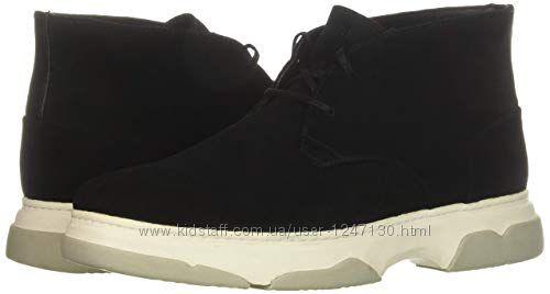 Черные замшевые ботинки бренд Calvin Klein р. 40