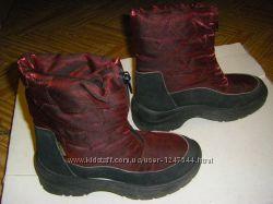 Рыжие сапоги, ботинки осень-зима 20 -22 см, р. 30-34