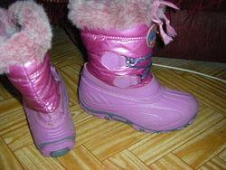 Теплые зимние сапожки для модницы 30-34 р.