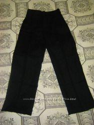Брюки школьные легкие, брюки Джордж, р. 116 - 152