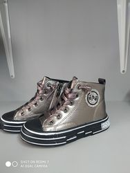 Демисезонные ботинки Apawwa CQ190-1 бронза, р 25-30