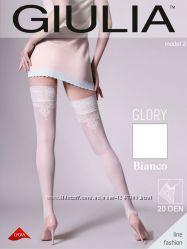 Белые чулочки с узором  Эротическое белье  Сексуальное белье