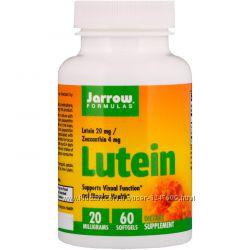 Лютеин для глаз, 20 мг, 60 капсул, Jarrow Formulas c Iherb