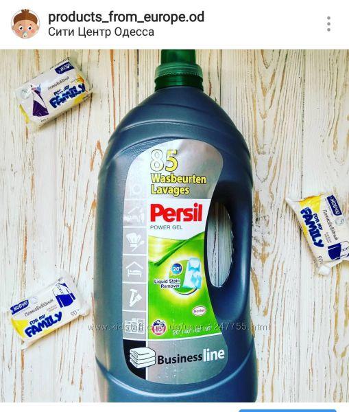 Persil жидкий порошок Гель Color Gel Business Line Универсальный  5. 65 л.