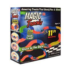Гибкий светящийся трек Magic Tracks 220 деталей светящаяся дорога