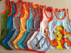 Комплект детский для мальчика майкатрусы