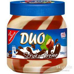 Паста шоколадная G&G Duo Schoko Creme 750г