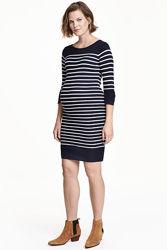 трикотажное платье туника для беременных H&M