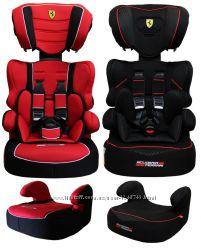 Автокрісло автокресло Ferrari Beline Red 9-36 кг Франція нове