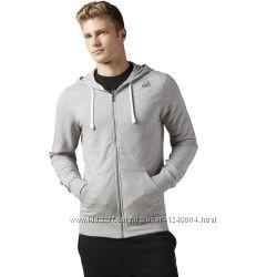 Кофта с капюшоном на молнии REEBOK Elements Fleece Full Zip Hoodie оригинал