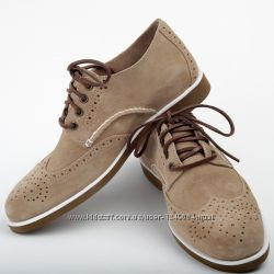 Туфли Sperry Top Sider  Boat Oxford Wingtip SP0286872 Cement-Suede