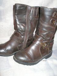Чоботи весняні для дівчинки. ботинки сапожки весенние для девочки 25 ... f2d4b1b0f38cc