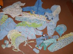 Пакет Одежды для новорожденного от 0 до 6 , пакет одягу для новонародженого