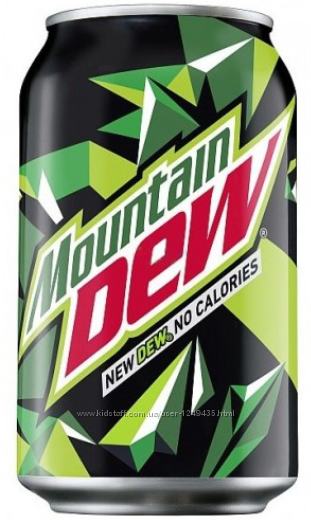 Mountain Dew Dr Pepper Cherry 330 ml Напиток Маунтин Дью газировка маунтайн