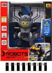 Робот трансформер на батарейке 88621HFF