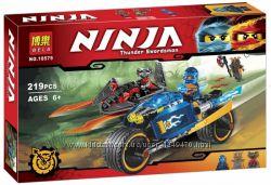 Конструктор Bela Ninja Ниндзяго 10579, 10580, 10581