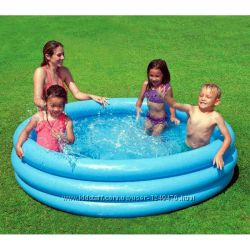 Детский бассейн надувной Intex интекс 3 вида