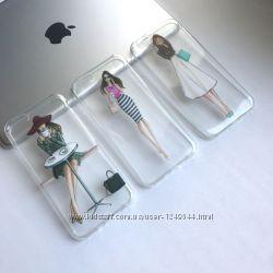 Силиконовый чехол Lady на iPhone 66s