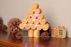 Корковое дерево с LED подсветкой