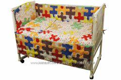 Огромный выбор Комплект постельного белья детский в кроватку, полуторный