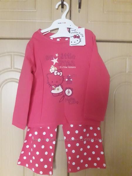 Новая пижама Hello kitty на 3-4 года Sanrio