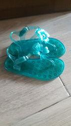 Резиновые босоножки сандалии GAP 18 см стелька