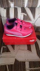 Новые кроссовки Puma 32 р-ра 19 см стелька оригинал