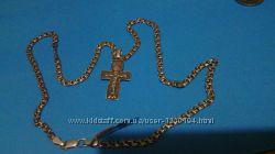 цепь с крестом серебро 20 грамм 56см