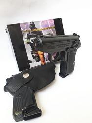 Зажигалка - сувенир пистолет вальтер в кобуре