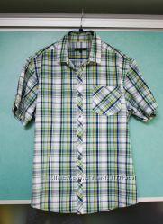Мужская рубашка George с коротким рукавом на лето