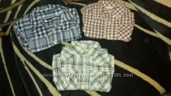 Фирменные рубашки Gap и Gymboree на маленького модника