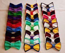 Шью бабочки галстуки все цвета