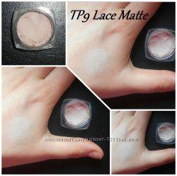 Матовые минеральные  тени для глаз бежевые матовые
