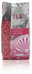 Горячий плёночный воск для депиляции Pink pearl Top Formula ItalWax 750 гр