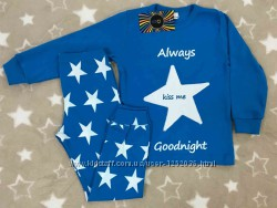 Трикотажная пижама для мальчика со Звездами