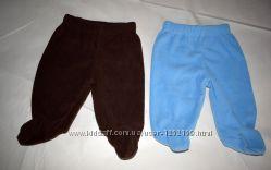 Штанці фліс, штанишки флисовые, повзунці нові , ползунки