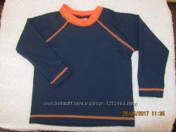 Солнцезащитная UPF футболочка H&M малышам 6-12 мес 74-80